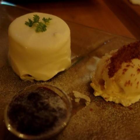フロマージュブリーのレアチーズケーキ