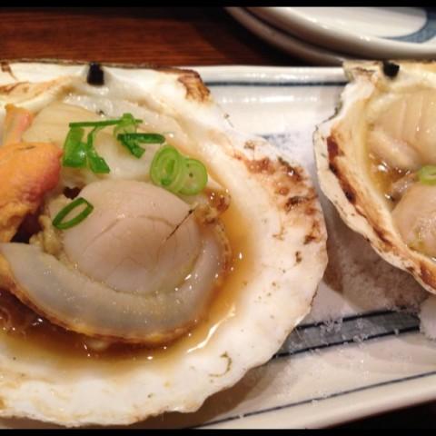 peko_sakiさん お店No.1のほたてバター焼き