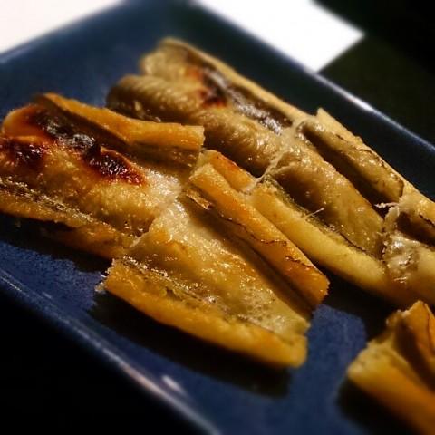 todamarukoさん 穴子の白焼き