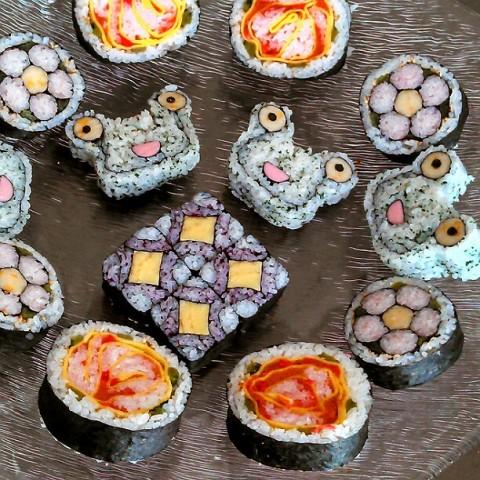 rinrinranranさん 飾り巻き寿司