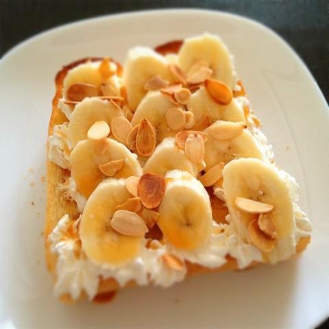urichikkaさん キャラメルバナナトースト