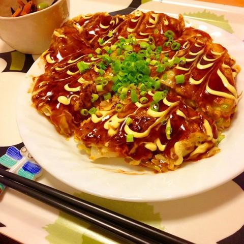 yurie_55さん 明太子もちチーズのお好み焼き