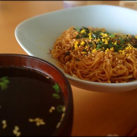 焼チキンカップ完成&スープ