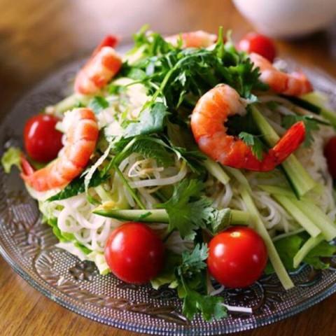 タイ風そうめんサラダ