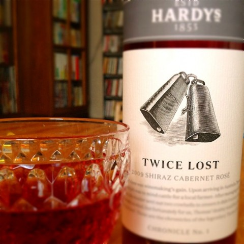 HARDYS TWICE LOST 2009 SHIRAZ CABERNET ROSE